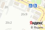 Схема проезда до компании Автомойка на Кожевнической в Москве