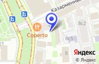 Схема проезда до компании ТФ ИТ-РЕСУРС в Москве