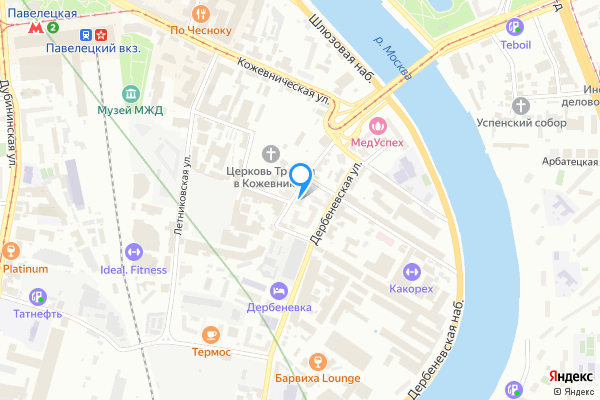 Головной офис банка Банк Москва-Сити