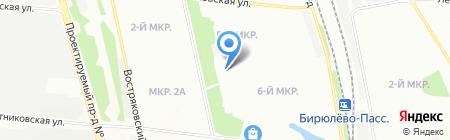 Средняя общеобразовательная школа №933 с дошкольным отделением на карте Москвы