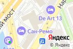 Схема проезда до компании Фон 24 в Москве