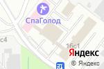 Схема проезда до компании Амада в Москве
