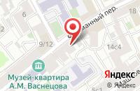Схема проезда до компании Таир-Нир в Москве