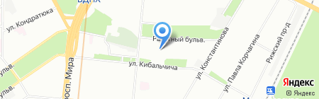 Luminofor на карте Москвы