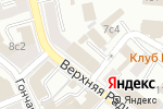 Схема проезда до компании СТ-Дизайн в Москве
