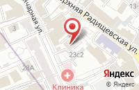 Схема проезда до компании Эвилор в Москве