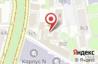 Схема проезда до компании Империалъ в Москве