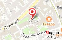 Схема проезда до компании Протез-Сервис в Москве