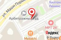 Схема проезда до компании Аркон-Строй в Москве