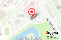 Схема проезда до компании Лакир в Москве