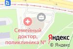 Схема проезда до компании Беник в Москве