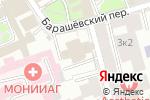 Схема проезда до компании Паломническая служба в Москве