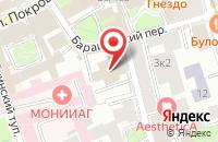 Схема проезда до компании Арпоис в Москве