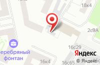 Схема проезда до компании Св в Москве