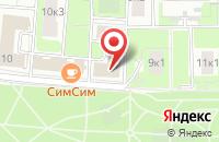 Схема проезда до компании Парус - Национальные Реформы в Москве