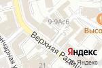 Схема проезда до компании Архитектон 3 в Москве