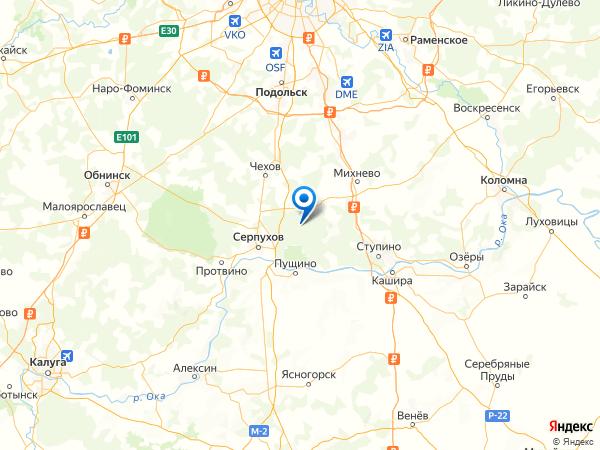 деревня Новинки-Бегичево на карте