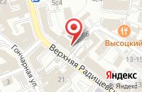 Схема проезда до компании Бэль Плюс в Москве