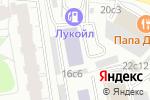 Схема проезда до компании Этно Галерея в Москве