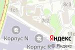 Схема проезда до компании Crazy Beach в Москве