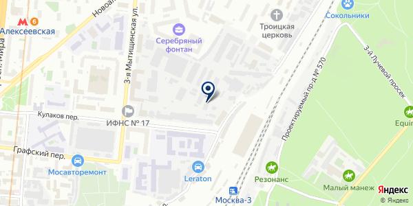 ТФ PENTCROFT PHRMA на карте Москве