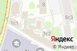 Схема проезда до компании СпецПожЗащита в Москве