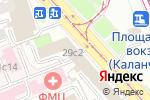 Схема проезда до компании Д2 Страхование в Москве