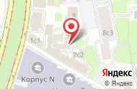 Схема проезда до компании Техофсет в Москве