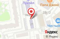 Схема проезда до компании Шефик в Москве