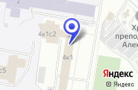 Схема проезда до компании ТФ RITM-IT в Москве