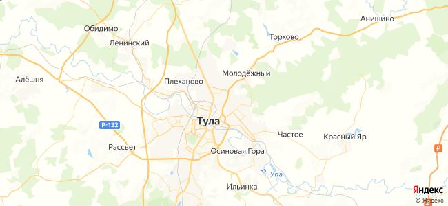 ТЦ Зельгрос (Областная больница) (бесплатный) маршрутка в Кимовске