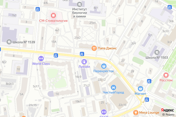 Ремонт телевизоров Район Алексеевский на яндекс карте
