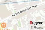 Схема проезда до компании ЮНИКОМ БИЗНЕС в Москве