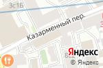 Схема проезда до компании Анахит в Москве