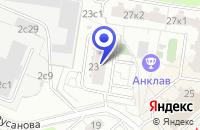 Схема проезда до компании ДОПОЛНИТЕЛЬНЫЙ ОФИС СВИБЛОВО в Москве