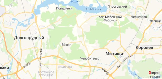 Ховрино на карте