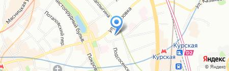 Vector K на карте Москвы