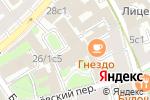Схема проезда до компании ОнкоМед в Москве