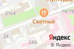 Схема проезда до компании Вельский лес в Москве