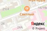 Схема проезда до компании Атиль в Москве