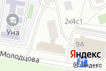 Схема проезда до компании Мини-пекарня на ул. Молодцова в Москве