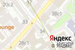 Схема проезда до компании Городской Букет в Москве