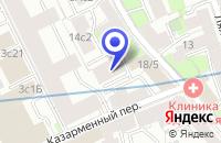 Схема проезда до компании ИНТЕРЬЕРНЫЙ САЛОН BARROK в Москве