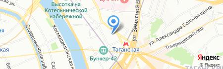 Юрмаркт на карте Москвы