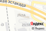 Схема проезда до компании Микос-7 в Москве