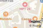 Схема проезда до компании ГУТА-ДЕВЕЛОПМЕНТ в Москве