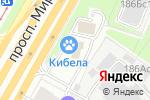 Схема проезда до компании Проффбар в Москве