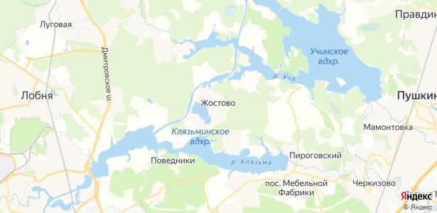 Жостово на карте