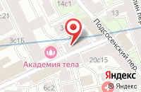 Схема проезда до компании Артфонд в Москве