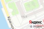 Схема проезда до компании Профессионал Банк в Москве
